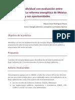 Práctica Individual Con Evaluación Entre Compañeros de La Reforma de México.