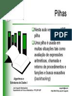 AED Pilhas