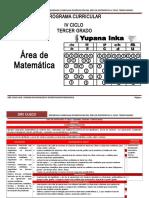 Área Matemática IV Ciclo_3º Grado Rutas