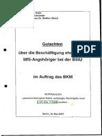 Stasi in Bstu