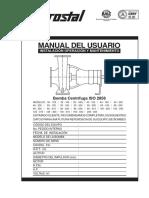 Manual Linea-1 10 Bomba Centrifuga Iso 2858
