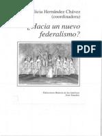 Hacia un nuevo federalismo? Alicia Hernández Chávez (coord.)