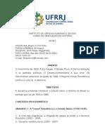 Programa de Brasil IV