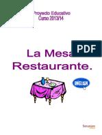 Proyecto Mesa Restaurante