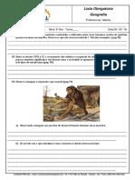 Listas Obrigatorias 6 Ano c j 09-03-18 Prova 16-03-18