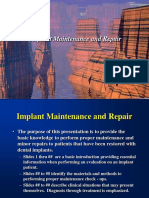 Implant Maintenance