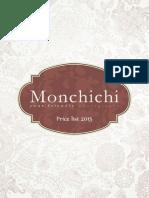Monchichi Price List 2015