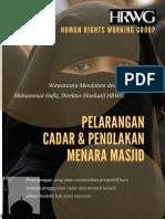 Wawancara Pelarangan Cadar Dan Menara Masjid (2)