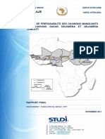 Final Report Dakar - Djibouti Prefeasibility French Version