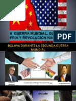 (Completo) II Guerra Mundial, Guerra Fría y Revolución