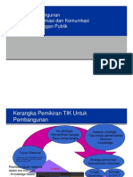Benefit Pembangunan TIK Utk Kepentingan Publik
