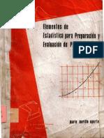 Elementos de Estadística para Preparación y Evaluación de Proyectos