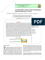 Spectroscopy of Linear Interstellar Carbon Chain Isotopologues