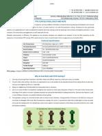 Eco Steel Ptfe Coated Fastners Data Sheet
