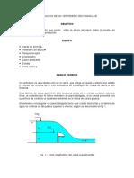 CALIBRACION DE UN VERTEDERO RECTANGULAR.doc