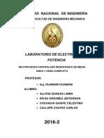 Tercer Informe de Electronica de Potencia