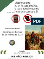 Misa 2017.03.25 - Domingo de Ramos