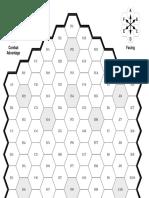 Avalon Hill - Gladiator Hex Map