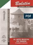 Boletin INIAM Nº16 El Arte Musical en Tarata en Homenaje a Su Aniversario