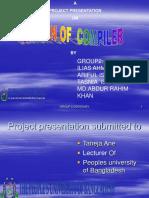 COMPILER DESIGNS Presentation Final