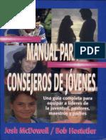 Manual Para Consejeros de Jóvenes. Josh McDowell