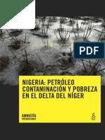 Petroleo Contaminacion y Pobreza en El Delta Del Niger