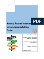 Organizações de Marketing de Destinos - DMO's