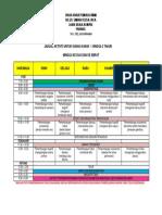 Jadual Aktiviti Untuk Kanak2 1-3 Tahun Wk 2 Dan 4 Tspu