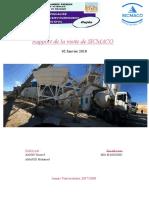 Rapport de Visite de SICMACO