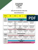 Jadual Aktiviti Untuk Kanak2 3-4 Tahun Wk 1 Dan 3 Tspu