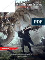 Monster Hunter Monster Manual