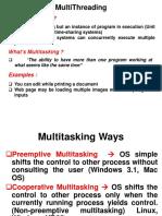 Multithreading (2)