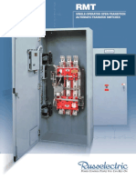 RMT (3-Cycle Open-Transition) Single-Operator Transfer Switch Brochure