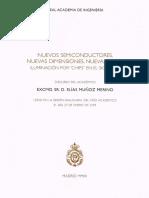 Elías Muñoz Merino_Nuevos Semiconductores, Nuevas Dimensiones, Nuevas Luces. Iluminación Por Chips en El Siglo XXI. Lección Inaugural 2009
