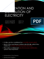 Generation and Distribution of Electricity Yeni