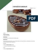 Ovo Explosão de Chocolate _ Receitas _ Harald Chocolates e Coberturas – Brasil