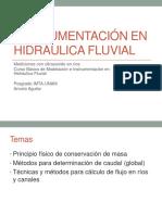 Metrologi Hidraulica Fluvial