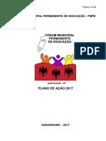 Plano de Ação do FMPE - 2017