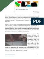 """""""Las TIC en El Nivel Inicial"""""""