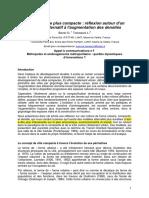 RENDRE LA VILLE PLUS COMPACTE.pdf