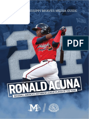 2018 Mississippi Braves Media Guide | Ball And Bat Games | Team Sports