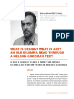 What is Design? What is art? — Eduardo Côrte-Real