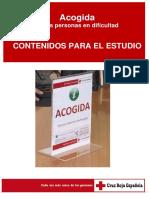 """Libreto Cruz Roja, """"acogida personas en dificultad"""""""