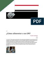 Alimentación de Los Gmi