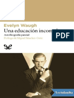 Una Educacion Incompleta - Evelyn Waugh