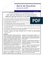 Por Qué Las Pensiones de Los Funcionarios Públicos Que Se Afiliaron a Las AFP Son Bajas