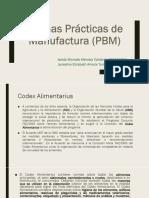 Buenas Prácticas de Manufactura PBM Gestion de La Calidad Total