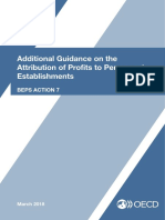 Additional Guidance Attribution of Profits to Permanent Establishments BEPS Action 7