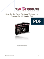 2012 Samurai Strength 1-4