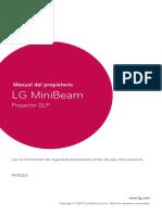 LG MiniBEAM Manual